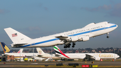73-1676 - Boeing E-4B - United States - US Air Force (USAF)