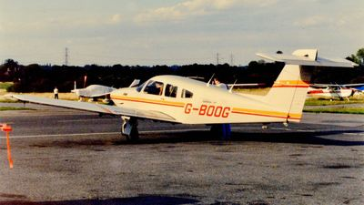 G-BOOG - Piper PA-28RT-201T Turbo Arrow IV - Private