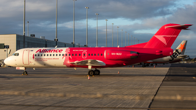 A picture of VHNUU - Fokker 70 - Alliance Airlines - © TommyNG