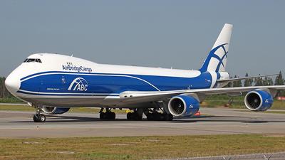 A picture of VQBGZ - Boeing 7478HV(F) - AirBridgeCargo Airlines - © Airyura