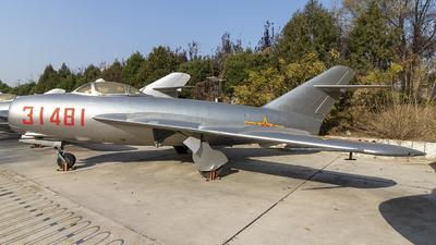 31481 - Mikoyan-Gurevich MiG-17 Fresco - China - Air Force