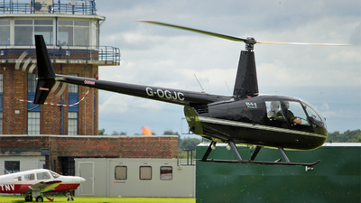 G-OGJC - Robinson R44 Raven II - Helicentre Liverpool