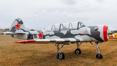 SP-YTG - Yakovlev Yak-52 - Private