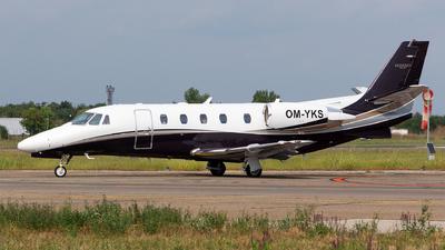 OM-YKS - Cessna 560XL Citation XLS+ - Elite Jet