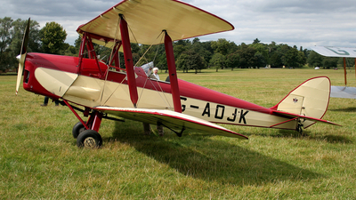 A picture of GAOJK - De Havilland DH82 Tiger Moth - [82813] - © Terry Figg