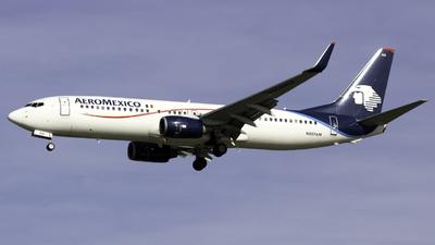 N859AM - Boeing 737-8Q8 - Aeromexico