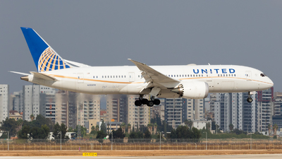 A picture of N26909 - Boeing 7878 Dreamliner - United Airlines - © Eyal Zarrad