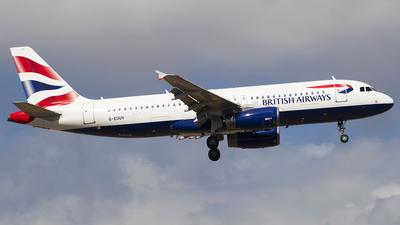 G-EUUV - Airbus A320-232 - British Airways