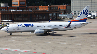 TC-SNG - Boeing 737-8HC - SunExpress