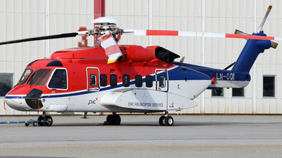 A picture of LNOQI - Sikorsky S92A - CHC Helikopter Service - © R.Rimestad