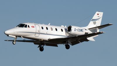 A picture of DCSMC - Cessna 560 Citation XLS+ - Silver Cloud Air - © PAUL LINK