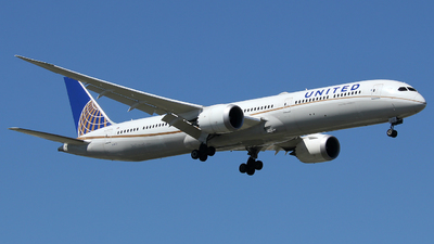 A picture of N14001 - Boeing 78710 Dreamliner - United Airlines - © Xiamen Air 849 Heavy