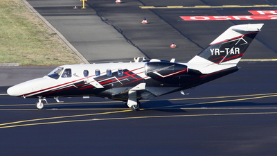 YR-TAR - Cessna 525 CitationJet M2 - Private