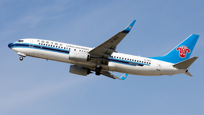 A picture of B1953 - Boeing 73781B - China Southern Airlines - © WYANG0520