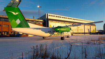 A picture of LNFVB - De Havilland Canada Dash 8100 - Wideroe - © Kim Vanvik