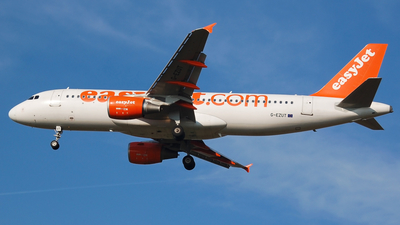 G-EZUT - Airbus A320-214 - easyJet