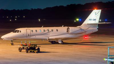 A picture of PRSMK - Cessna 680 Citation Sovereign - [6800252] - © Leonardo Carvalho