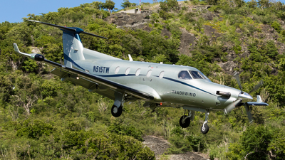 A picture of N515TW - Pilatus PC12/45 - Tradewind Aviation - © Martin Rogosz