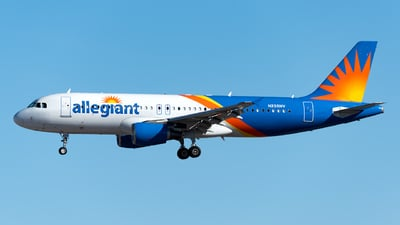 A picture of N235NV - Airbus A320214 - Allegiant Air - © Jet92