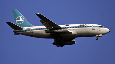 LX-LGN - Boeing 737-229 - Luxair - Luxembourg Airlines