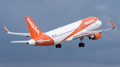 G-EZPM - Airbus A320-214 - easyJet
