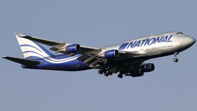 A picture of N919CA - Boeing 747428(BCF) - National Airlines - © kaoru mizoguchi