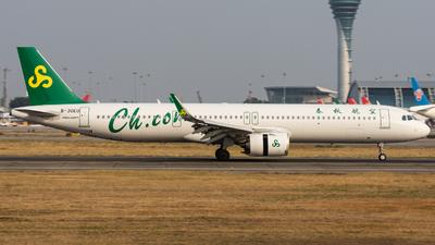 B-30EU - Airbus A321-253NX - Spring Airlines