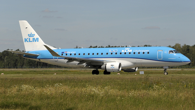 A picture of PHEXZ - Embraer E175STD - KLM - © Ramin