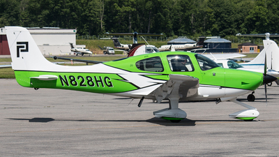 N828HG - Cirrus SR20 - Private