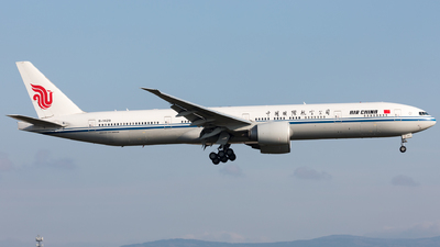 A picture of B1429 - Boeing 77739L(ER) - Air China - © Sierra Aviation Photography