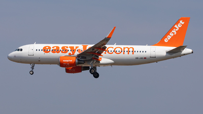 HB-JXE - Airbus A320-214 - easyJet Switzerland