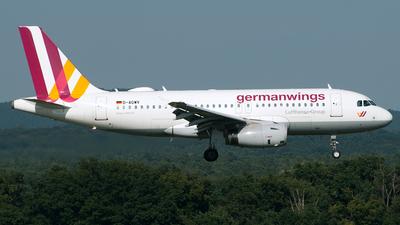 D-AGWV - Airbus A319-132 - Germanwings