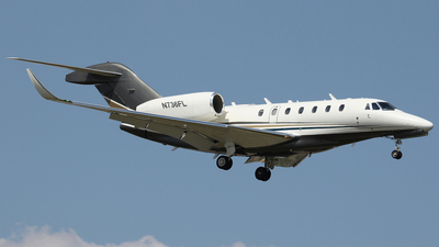 N736FL - Cessna 750 Citation X - Private