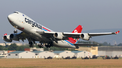LX-VCV - Boeing 747-4R7F(SCD) - Cargolux Airlines International