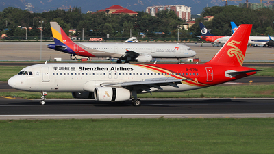 A picture of B6781 - Airbus A320232 - Shenzhen Airlines - © SEN BAI