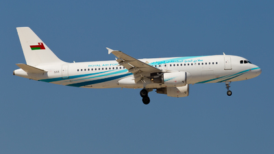 555 - Airbus A320-214 - Oman - Royal Air Force