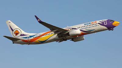 HS-DBY - Boeing 737-88L - Nok Air