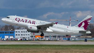 A7-AHG - Airbus A320-232 - Qatar Airways