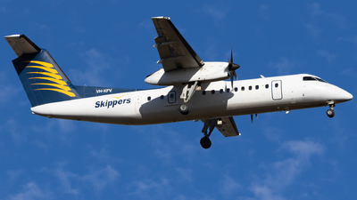 VH-XFV - Bombardier Dash 8-314 - Skippers Aviation