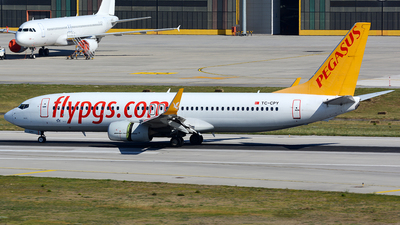 TC-CPY - Boeing 737-8H6 - Pegasus Airlines