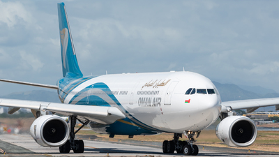 A picture of A4ODH - Airbus A330343 - Oman Air - © Andrew Mendoza