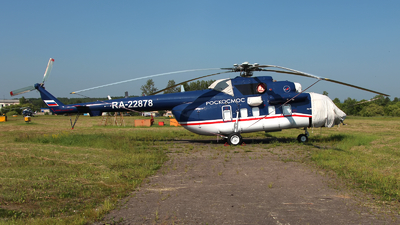 RA-22878 - Mil Mi-8AMT Hip - Russia - Federal Space Agency (Roscosmos)