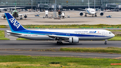 JA615A - Boeing 767-381(ER) - All Nippon Airways (Air Japan)