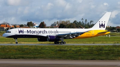 G-MONJ - Boeing 757-2T7 - Monarch Airlines