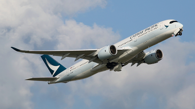 B-LRK - Airbus A350-941 - Cathay Pacific Airways