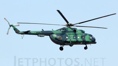 206 - Mil Mi-171Sh Baikal - Bangladesh - Air Force