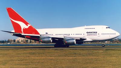 VH-EAB - Boeing 747SP-38 - Qantas