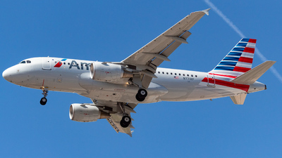 N771XF - Airbus A319-111 - American Airlines