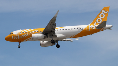 A picture of 9VTRM - Airbus A320232 - Scoot - © rizzysierra