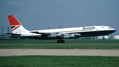 G-AXGX - Boeing 707-336C - British Airways
